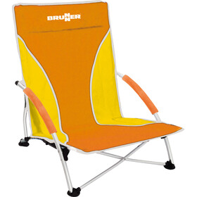 Brunner Cuba Chaise de plage, orange/yellow